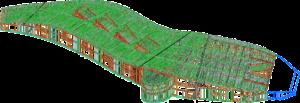 Большой финский каркасный дом